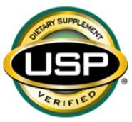 USP Verified mark